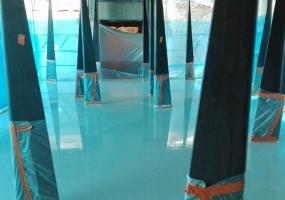 Chape liquide sur plancher chauffant
