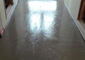 Chape fluide pour plancher chauffant
